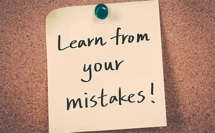 Mistakes can be a Key to Your Career Growth